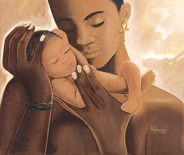 black motherhood